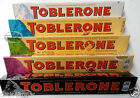 Toblerone Swiss Chocolate Milk White Dark Crunchy Almond Fruit & nuts Bar SN