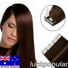 18/22Inch Remy Human Hair Extensions Tape in Skin Weft Real Brazilian Remy Hair