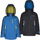 Regatta Fusilier Boys Waterproof Jacket Blue & Black