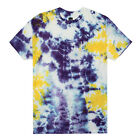 HUF CRYSTAL WASH SCRIPT TEE PURPLE/YELLOW