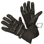 Motorcycle gloves - leather cordura textile S - 3XL