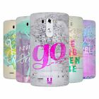 HEAD CASE DESIGNS WANDERLUST STATEMENTS SOFT GEL CASE FOR LG PHONES 1