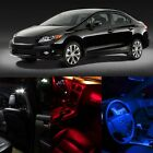 White Red Blue LED Interior Package Deal Dome Map lights for Honda Civic Accord