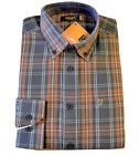 Mens Farah Classic Phantom Checked  Long Sleeves -Medium (G14)