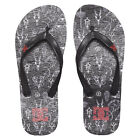Infradito DC Shoes Sandals Spray Graffik Black White Red