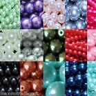 4mm/200pcs 6mm/ 150pcs  8mm/100pcs 10mm/80pcs glass pearl beads by 1st class
