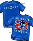 Los Angeles Dodgers Adrian Gonzales T-Shirt  - Adult Sizes Brand New
