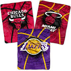 "Official NBA Royal Plush Raschel Blanket 60""X80"" in 15 Styles- Relax NBA Style"