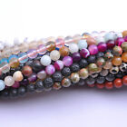 Wholesale Natural Gemstone Round Space Loose Beads 6MM 8MM