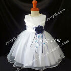 #NLN6 Baby Girls Christening Baptism Church Confirmation Party Night Gown Dress