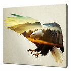 EAGLE MOUNTAINS CANVAS WALL ART PICTURE PRINT VARIETY OF SIZES same day despatch