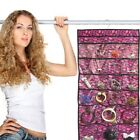 "Home Collections 18"" x 36"" Hanging Jewelry Organizer with Camouflage Design"