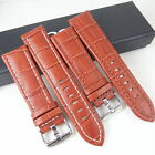 HQ 22mm For MONTBLANC Leather Watch band Timewalker 22 mm Strap w/ 20mm Clasp