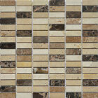 """Marble Mosaic Tile, """"Nevada Collection"""" MM 3202 - Rice, 5/8""""X2"""", Polished"""