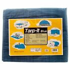 Car' Blue Tarp Tarpaulin Poly Tent Canopy Cover Camping Ground Sheet w Grommets