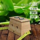 4 Type Moxa Stick Roll Holder Healing Therapy Bamboo Mild Moxibustion Box NEW