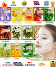 ALOE SNAIL OLIVE BAMBOO Q10 COLLAGEN CUCUMBER REFRESHING CLEANSING FACE MASK
