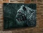 Large Canvas Wall Art Picture Print Abstract Leopard Animal  JY36