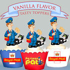 POSTMAN PAT PARTY EDIBLE Vanilla Wafer XL Cupcake Toppers PRE-CUT cup cake