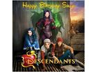 "7.5"" NEW DISNEY DESCENDANTS CAKE TOPPER  EDIBLE WAFER PAPER OR ICING"