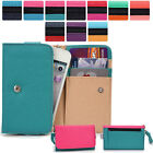 Two-Tone Protective Wallet Case Clutch Cover for Smart-Phones ESAMMT-10