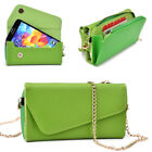 Womens PU Leather Wallet Case Cover & Crossbody Clutch for Smart-Phones MLUB12