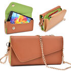 Womens PU Leather Wallet Case Cover & Crossbody Clutch for Smart-Phones MLUB14