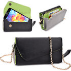 Womens PU Leather Wallet Case Cover & Crossbody Clutch for Smart-Phones MLUB29