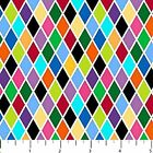 COLORWORKS CONCEPTS RAINBOW GEOMETRIC CRAFT QUILT FABRIC Free Oz Post 20829