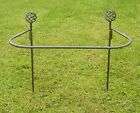PLANT SUPPORT -  METAL HANDCRAFTED GARDEN FEATURED SUPPORTS SET OF 3