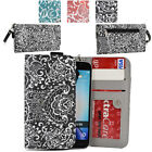 Ladie's Convertible Paisley Smartphone Wallet Cover & Wristlet Clutch ESMLP2-5
