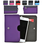 Womens Protective Wallet Case Cover for Smart Cell Phones by KroO ESDC-13 MD