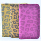 LUCAX Leopard PU Leather Stand Case Flip Cover Wallet For Apple iphone 4 / 4S