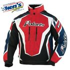 POLARIS Women's Red/Blue RETRO FXR® THROTTLE Winter Snowmobile Jacket 2863401_