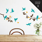 Bird Tree Blossom Wall Sticker Home Quotes Inspirational Love MS265VC