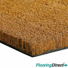 Heavy Duty Coir matting - coconut door mat 17mm 1m-2m wide - Any size available.