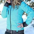 NEW 2015 YAMAHA WOMENS DIVAS LACE COLLECTION SNOWMOBILE JACKET BLUE