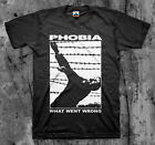 PHOBIA 'What Went Wrong' T shirt (Napalm Wormrot Insect Warfare Magrudergrind)