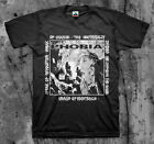 PHOBIA 'Means Of Existence' T shirt (Wormrot Napalm InsectWarfare Magrudergrind)