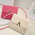 Women PU Leather Handbag Shoulder Bag Tote Purse Messenger Satchel Hobo Bag FM