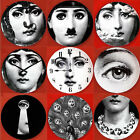 "Replica Fornasetti Pattern 8"" Dish Art Nouveau Wall Plate Home Decoration"