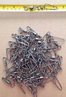 50 pcs Black Crane Swivel with CoastLock Snap #1 to #6/0 from $9.99 (New)