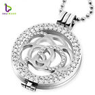 """New Coin necklace """"Mix style"""" 33mm coins disc coin holder set with 80cm chains"""