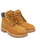 Timberland Designer 6 Inch Premium Kids / Youth Wheat Boots Free Delivery