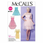 McCalls 7321 Create It! Petite Boned Party Prom Dress Sewing Pattern M7321