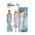 Butterick 5985 Flounce Ruffle Fishtail Dress Sewing Pattern B5985 3 Versions!