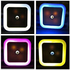 CHOOSE COLOR Auto Sensor LED Plug-in Night Light