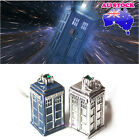 1X Doctor Who 3D Movie Tardis Police Box Antique Pendant Necklace