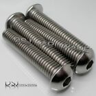 UNC 3/8 Inch A2 Stainless Steel Hexagon Socket Button Screws / Dome Bolts