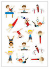 Gymnastic REWARD STICKER for Male gymnast